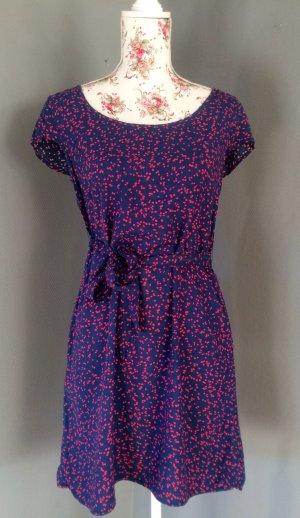 Süßes Pünktchen-Kleid in Gr. XS