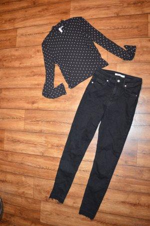 Süßes Pünktschen Shirt Gr. 38 von H&M neu