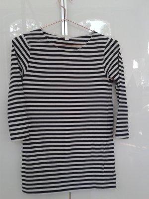 COS Stripe Shirt white-dark blue cotton