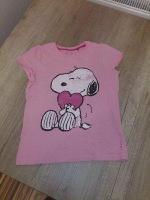 Süßes rosa Snoooy-Shirt
