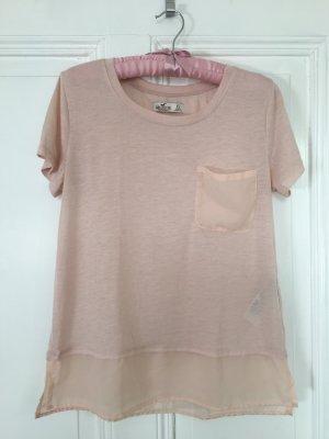 süßes rosanes T-Shirt von Hollister xs
