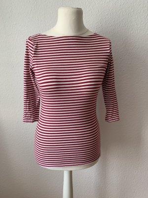 Süßes rot weißes Streifenshirt Größe 36