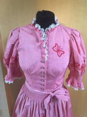 Dirndl roze-rood
