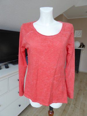 süsses rotes Shirt mit Pailetten von Your & Self Gr. M