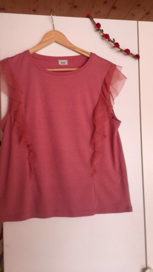 Pimkie Frill Top pink