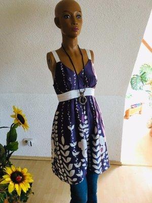 Süßes Satin Kleid Gr M