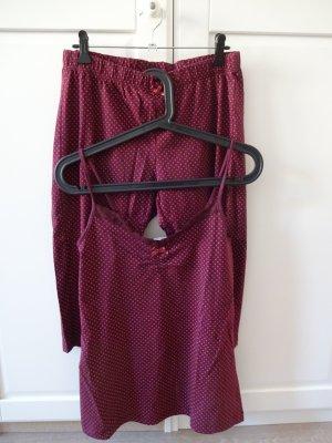 NKD Pijama púrpura Algodón