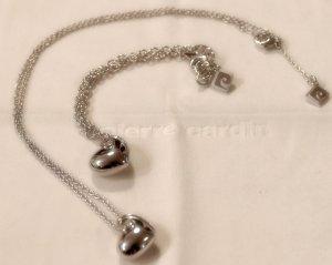 Süßes Schmuckset aus 925 Sterling Silber mit zauberhaften Herzänhängern (auch einzeln abzugeben)