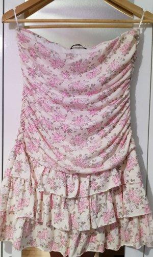 Tally Weijl Off-The-Shoulder Dress oatmeal