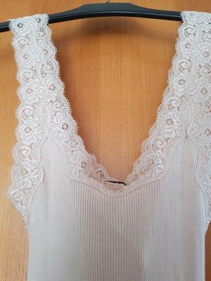 süsses, sehr dehnbares Hemdchen, reine Seide # Grösse L #