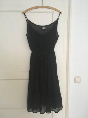 Süsses sexy schwarzes Plissée-Kleid von Kling 38 / M