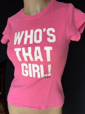 Süßes Shirt in pink mit Aufdruck