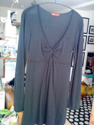 Edc Esprit Robe t-shirt noir coton