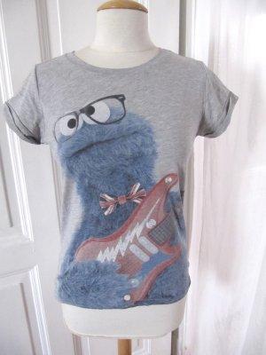 Süßes Shirt Krümelmonster Sesamstraße Größe S