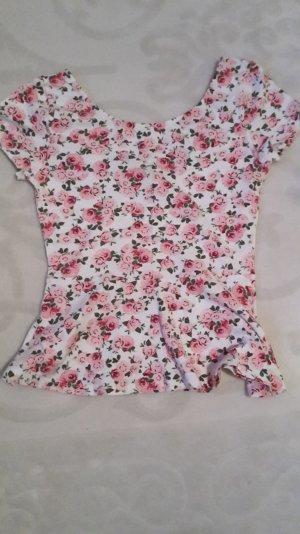 süßes Shirt mit Blumenmuster
