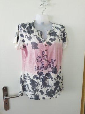 BC Camisa gris-rosa