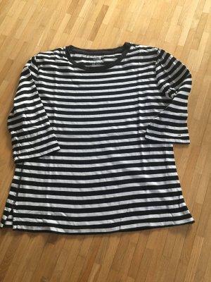 Hilfiger Denim Camisa de rayas blanco-negro