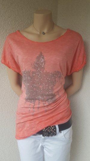 Süsses Shirt von Lindsay Moda - Gr. M
