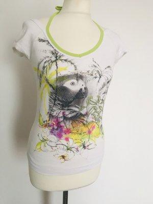 Marc Cain T-shirt col en V blanc