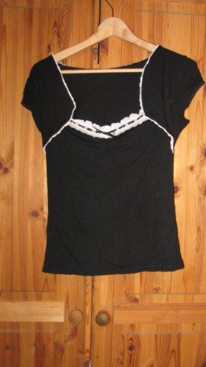 Süßes Shirt von Orsay mit Mieder und Spitze – Gr. 38