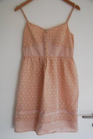 Süßes Sommer Kleid Boho mit Punkten von Lazzare aus Italien