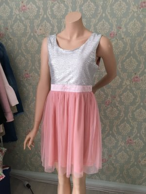 Bershka Babydoll Dress multicolored