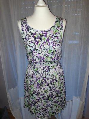Pieces Mini Dress multicolored viscose
