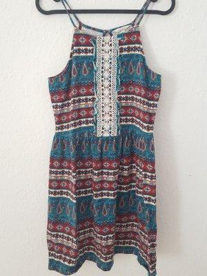 Springfield Hippie Dress multicolored