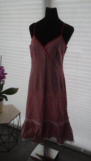 Apart Dress red cotton