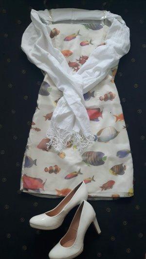 Süßes Sommerkleid Gr. 36  von NICOWA weiß - sehr elegant!