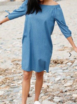 Strandjurk korenblauw
