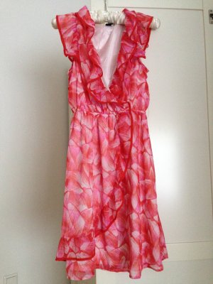 Süßes Sommerkleid mit Gürtel, neu, Gr. 38
