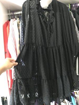 Süßes Sommerkleid, schwarz