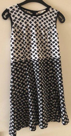 Rebellion Off-The-Shoulder Dress black-white polyester