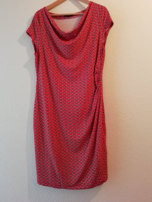 Manguun Stretch Dress red-dark blue
