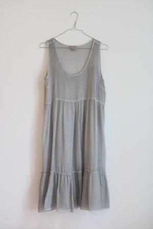 Süßes Strandkleid aus Kreppstoff von Milano Gr. 38