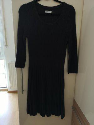 Calvin Klein Gebreide jurk antraciet Wol