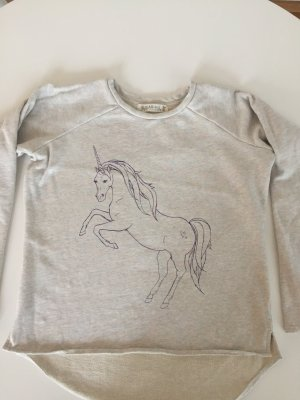 Süßes Sweatshirt mit Einhorn Gr. M 36-38