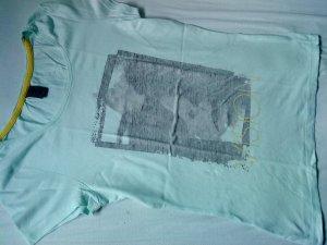süßes T-Shirt in hellmint von Vero moda M