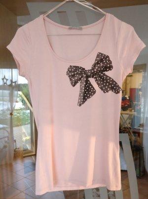 Süßes T-Shirt mit Schleifenaufdruck von Orsay