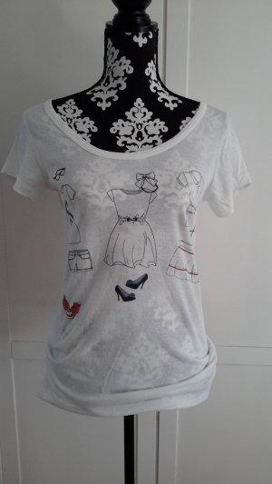 Blend T-shirt wit