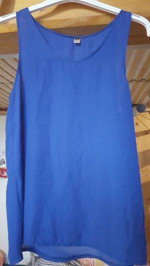 A-lijn top blauw