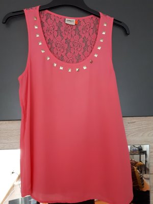 Only Backless Top pink