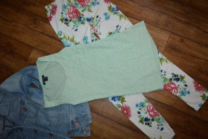 Amisu Haut en crochet vert clair