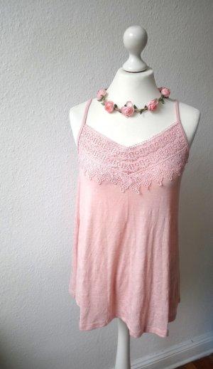 Gina Top de ganchillo rosa-rosa claro Viscosa