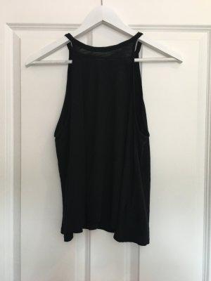 H&M Blusa sin espalda negro