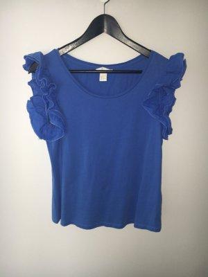 Süßes Top von H&M. Größe S. Blau Volant