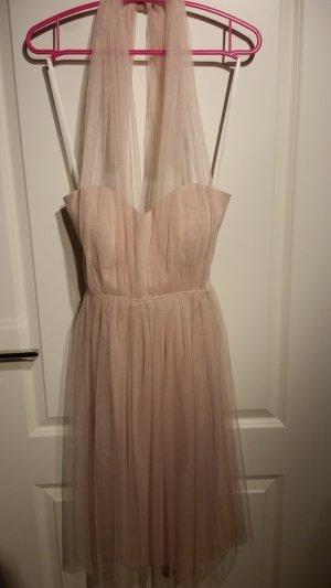 Fever london Vestido bustier rosa empolvado-rosa