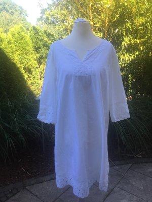 bpc Robe tunique blanc coton