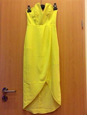 Süßes V-Ausschnitt Kleid